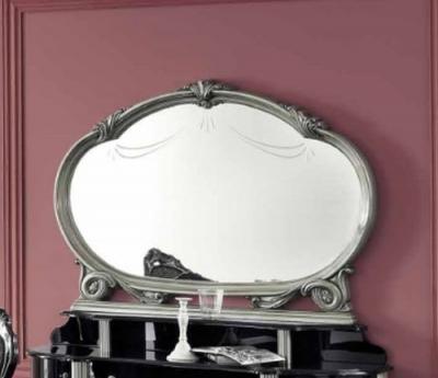 Camel Barocco Silver Italian Mirror - 147cm x 106cm
