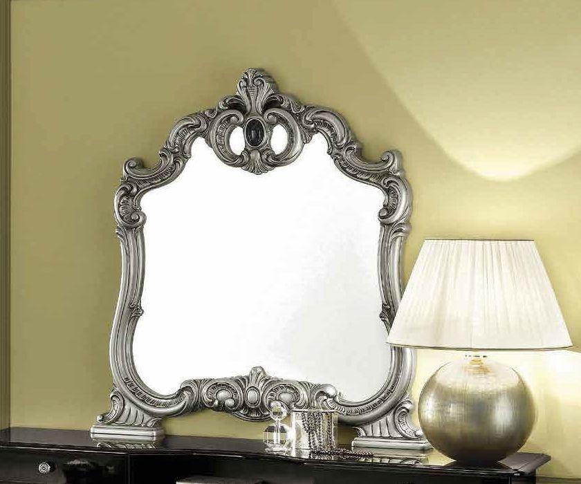 Camel Barocco Silver Italian Mirror - 107cm x 116cm