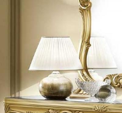 Camel Barocco Italian Small Silver Lamp