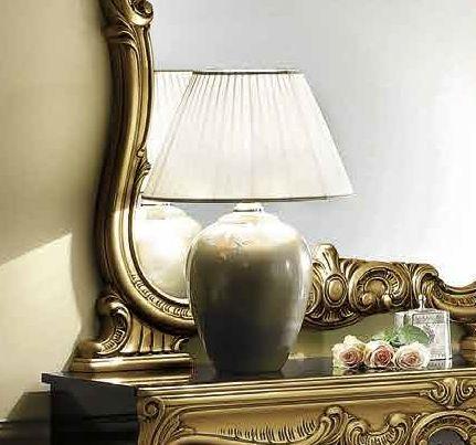 Camel Barocco Italian Large Silver Lamp
