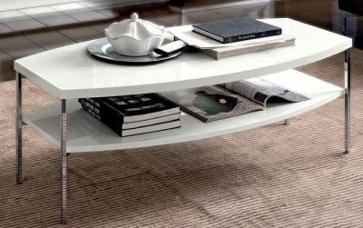 Camel Dama White Italian Coffee Table