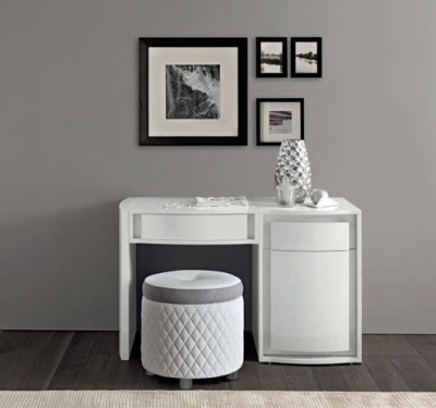 Camel Dama Bianca Night White Italian Medium Vanity Dresser