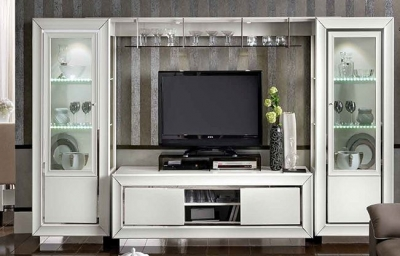 Camel Dama White Italian Wall Unit