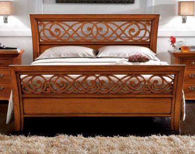 Camel Decor Italian Traforato Bed