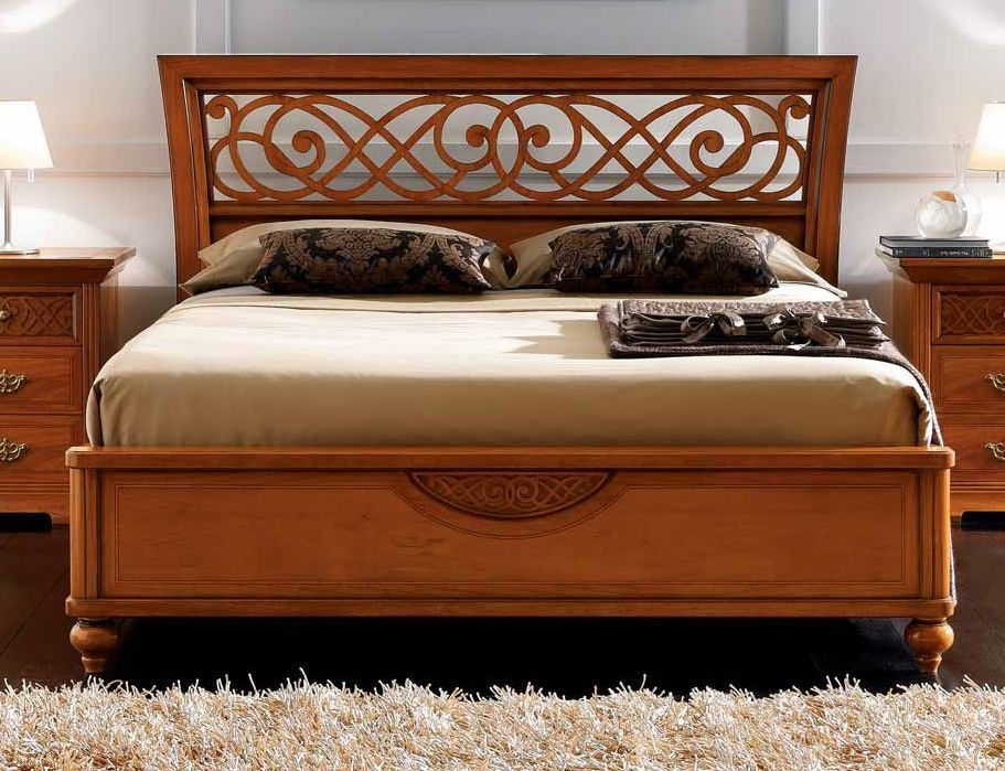 Camel Decor Italian Traforato Ring Bed