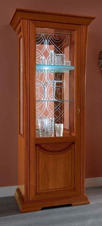 Camel Decor Italian Vitrin - 1 Door