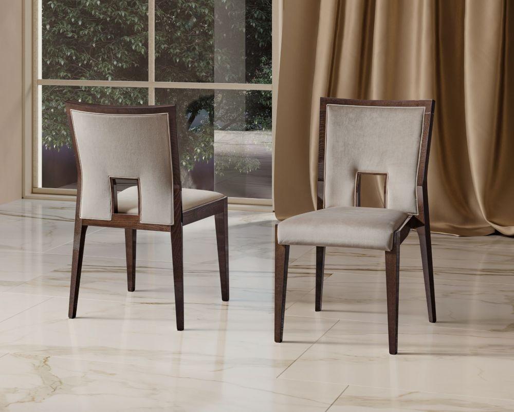Camel Elite Day Patrician Walnut Italian Ambra Dining Chair