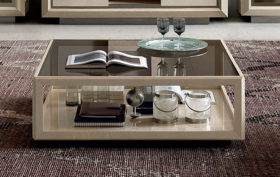 Camel Elite Day Sand Birch Italian Mini Coffee Table