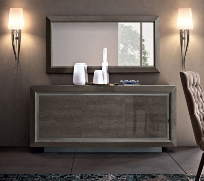 Camel Elite Day Silver Birch Italian Large Buffet Sideboard