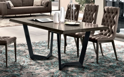 Camel Elite Day Silver Birch Italian Net Extending Dining Table