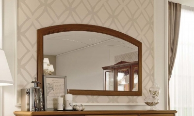 Camel Fantasia Day Walnut Italian Mirror - 140cm x 80cm