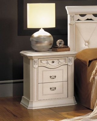 Camel Firenze Italian Bedside Table