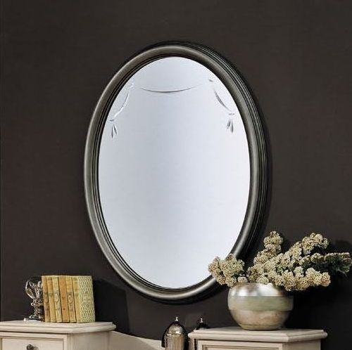 Camel Firenze Italian Mirror - Oval