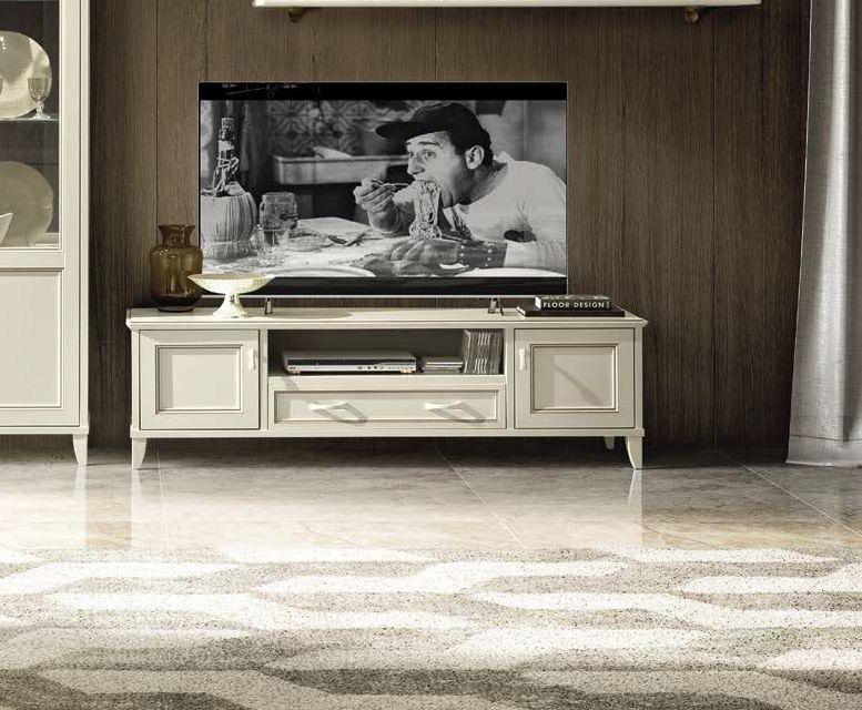 Camel Giotto Day Bianco Antico Italian Maxi TV Cabinet
