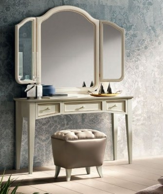 Camel Giotto Night Bianco Antico Italian Dressing Table
