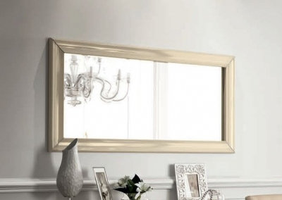 Camel La Star Day Ivory Italian Rectangular Mirror - 80cm x 160cm