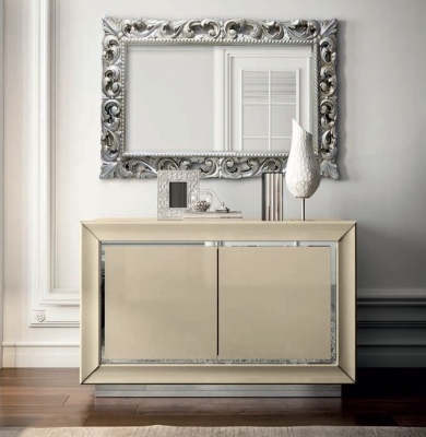 Camel La Star Day Ivory Italian Small Buffet Sideboard