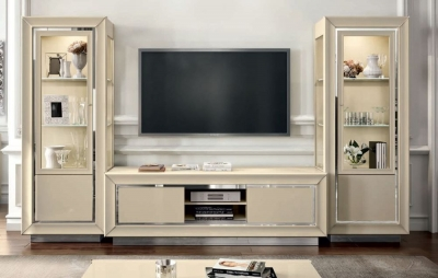 Camel La Star Day Ivory Italian TV Wall Unit