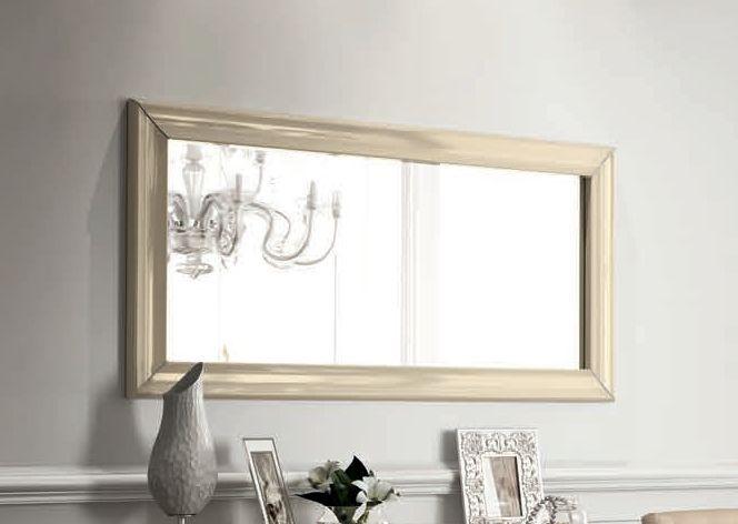 Camel La Star Day Ivory Italian Rectangular Mirror - 80cm x 160cm