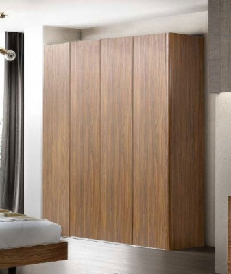 Camel Luna Night Walnut Italian Wardrobe