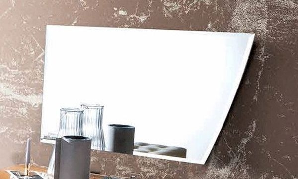 Camel Luna Night Walnut Italian Mirror - 109cm x 70cm
