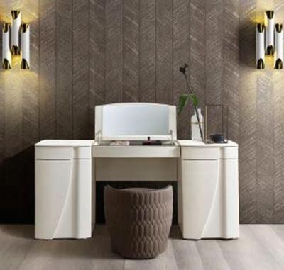 Camel Luna Night White Ash Italian Medium Vanity Dresser