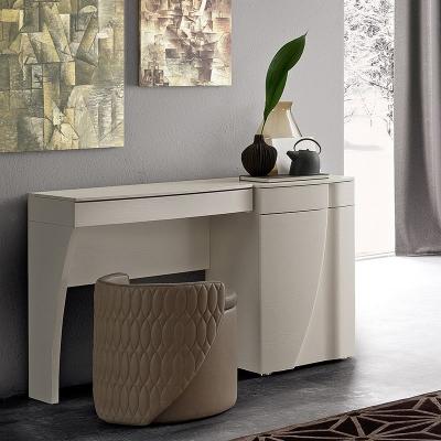 Camel Luna Night White Ash Italian Vanity Dresser