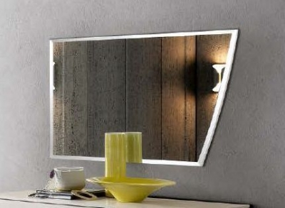 Camel Luna Night White Ash Italian Mirror - 109cm x 70cm