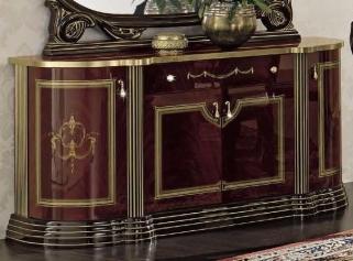 Camel Luxor Mahogany Italian Buffet - 4 Door