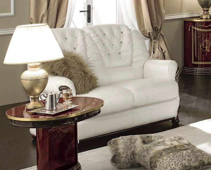 Camel Luxor Italian Leather 2 Seater Sofa Bed