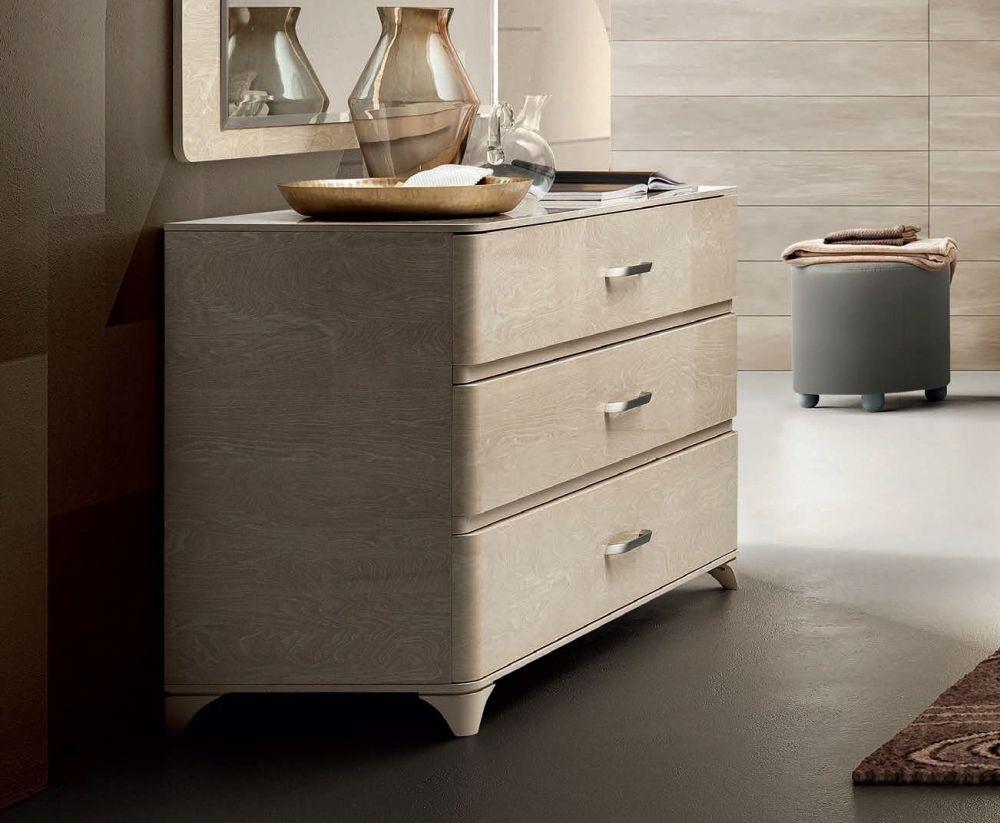 Camel Maia Night Sand Birch Italian VIP Version Dresser