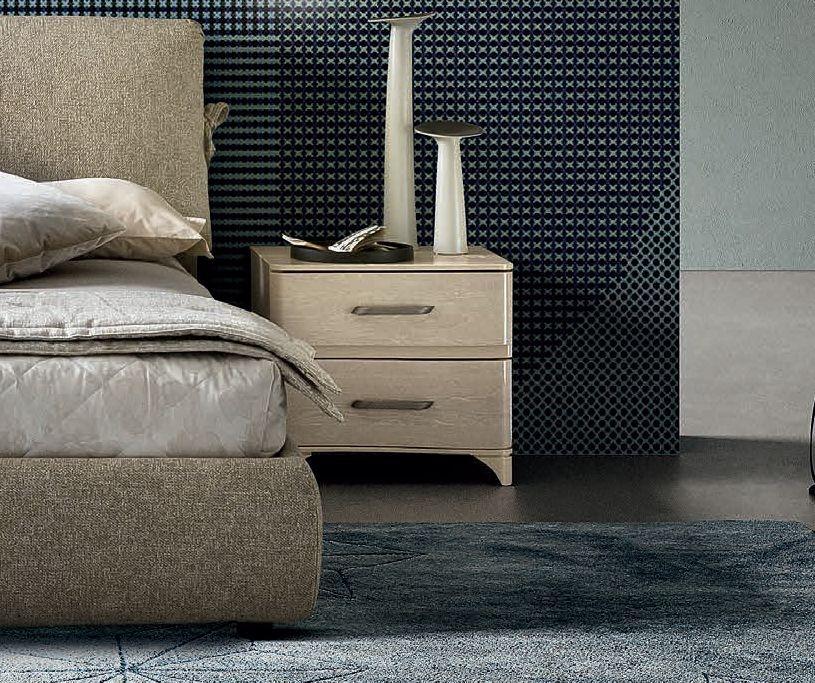 Camel Maia Night Sand Birch Italian VIP Version Mini Bedside Cabinet