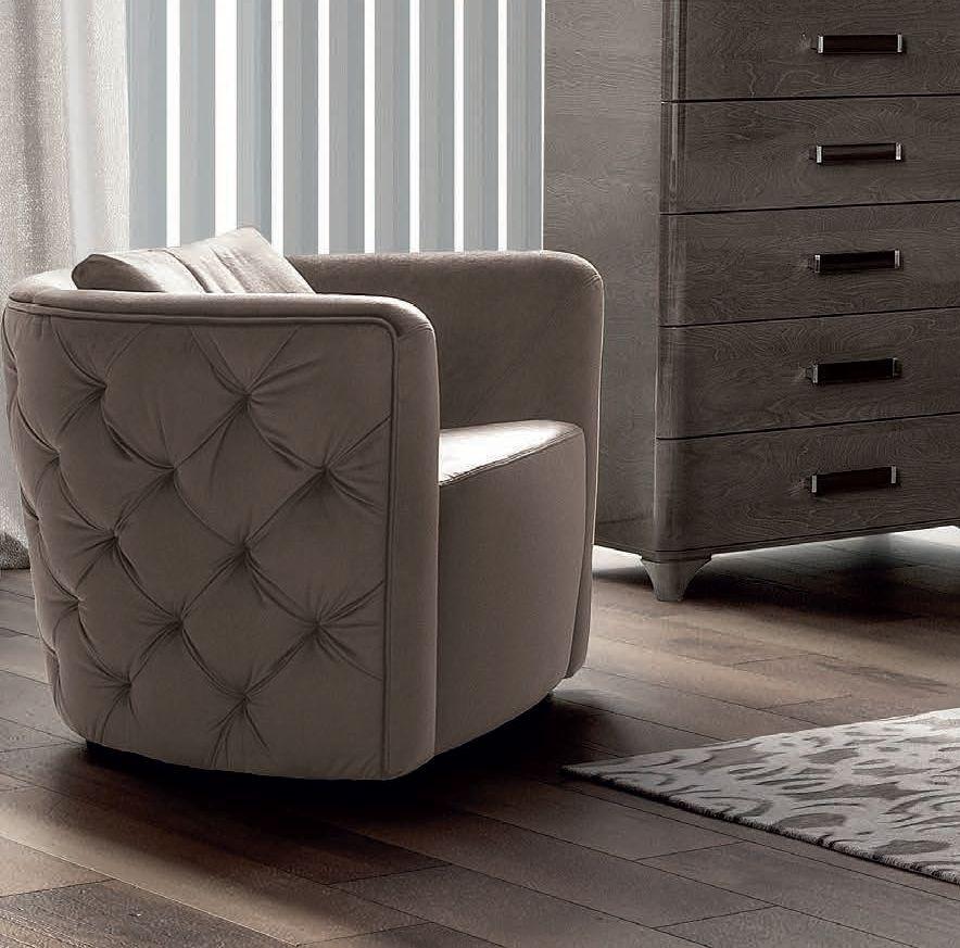 Camel Maia Night Italian Nest Armchair with Cushion