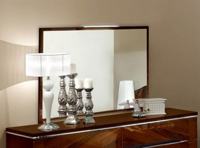 Camel Matrix Italian Bedroom Mirror