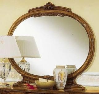 Camel Milady Walnut Italian Mirror