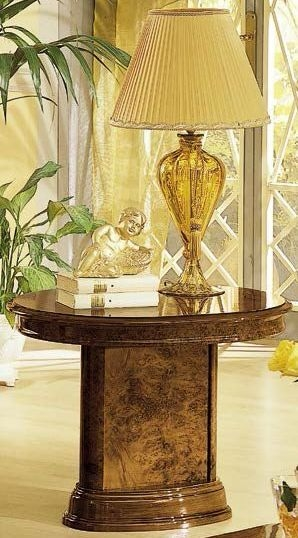 Camel Milady Walnut Italian Lamp Table