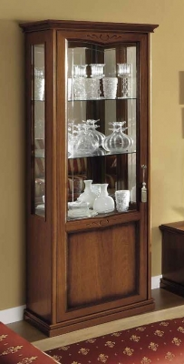 Camel Nostalgia Day Walnut Italian 1 Door Left Display Unit