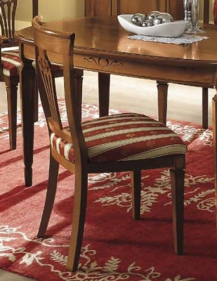 Camel Nostalgia Day Walnut Italian Dining Chair (Pair)