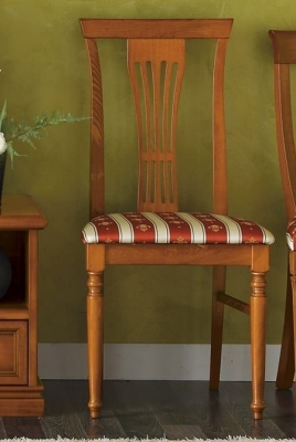 Camel Nostalgia Day Walnut Italian Dining Chair
