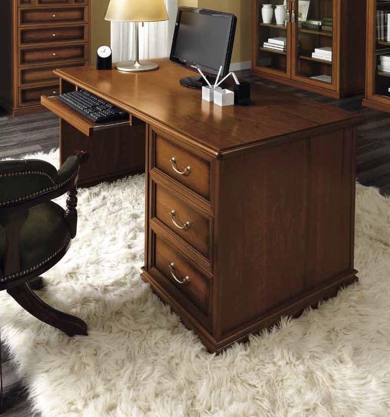 Camel Nostalgia Day Walnut Italian Writing Desk