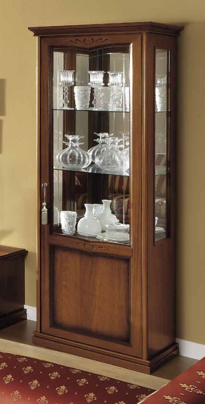 Camel Nostalgia Day Walnut Italian 1 Door Right Display Unit
