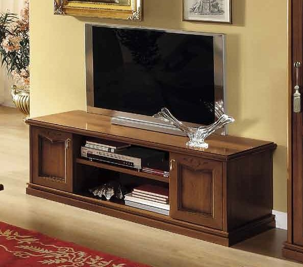 Camel Nostalgia Day Walnut Italian Medium TV Cabinet