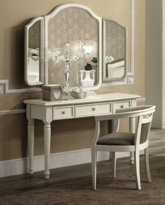 Camel Nostalgia Bianco Antico Italian Vanity Dressing Table