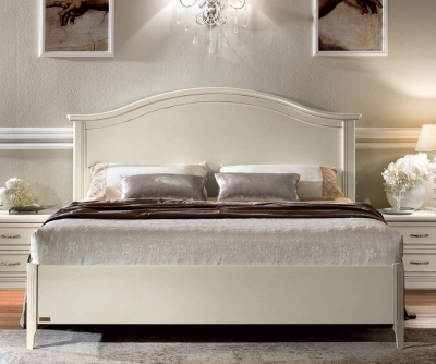 Camel Nostalgia Bianco Antico Gendarme Ring Bed with Storage