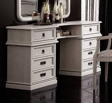 Camel Nostalgia Bianco Antico Italian Large Dressing Table