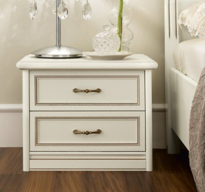 Camel Nostalgia Ricordi Night 2 Drawer Bedside Cabinet
