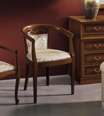 Camel Nostalgia Night Walnut Italian Bedroom Armchair