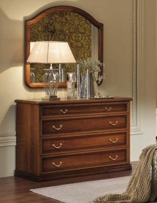 Camel Nostalgia Night Walnut Italian Dresser