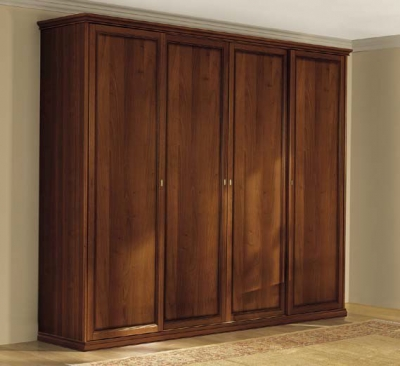 Camel Nostalgia Night Walnut Italian Wardrobe