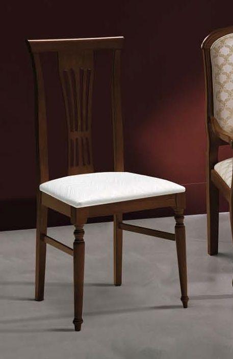 Camel Nostalgia Night Walnut Italian Dining Chair